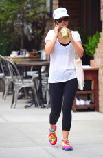 RACHEL BILSON Out and About in New York 06/16/2015
