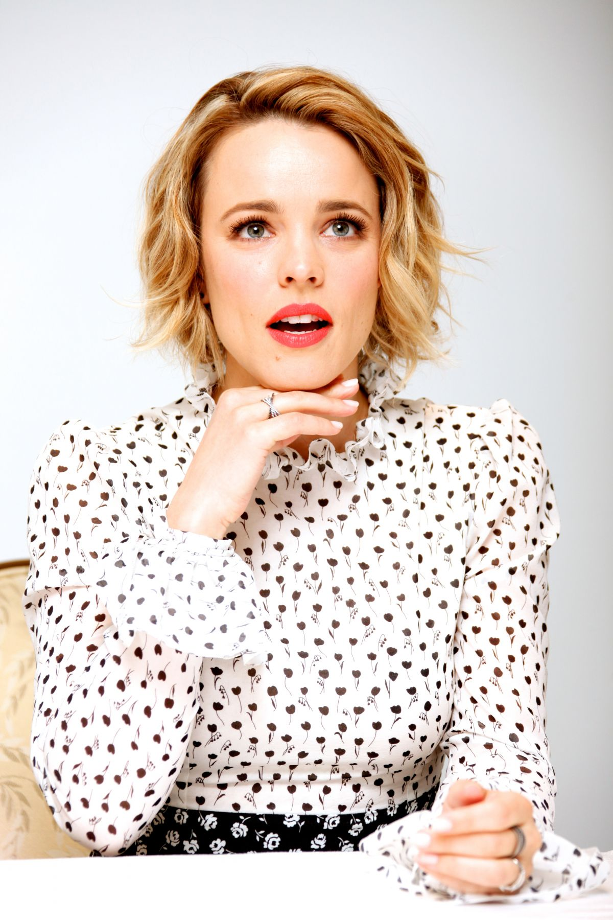 RACHEL MCADAMS at True Detective Press Conference in ... Rachel Mcadams