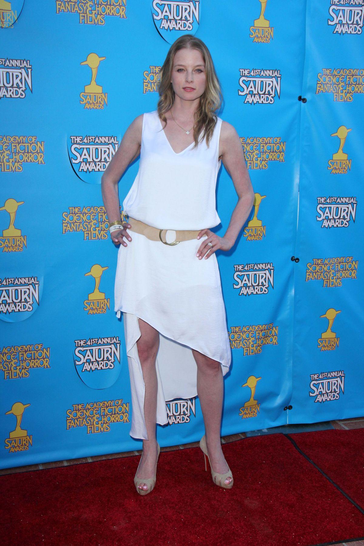 RACHEL NICHOLS at 2015 Saturn Awards in Burbank