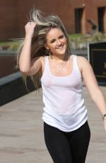 RACHEL RHODES Cooling Off Out in Liverpool 06/09/2015