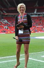 RACHEL RILEY at Manchester United Legends Charity Match at Old Trafford