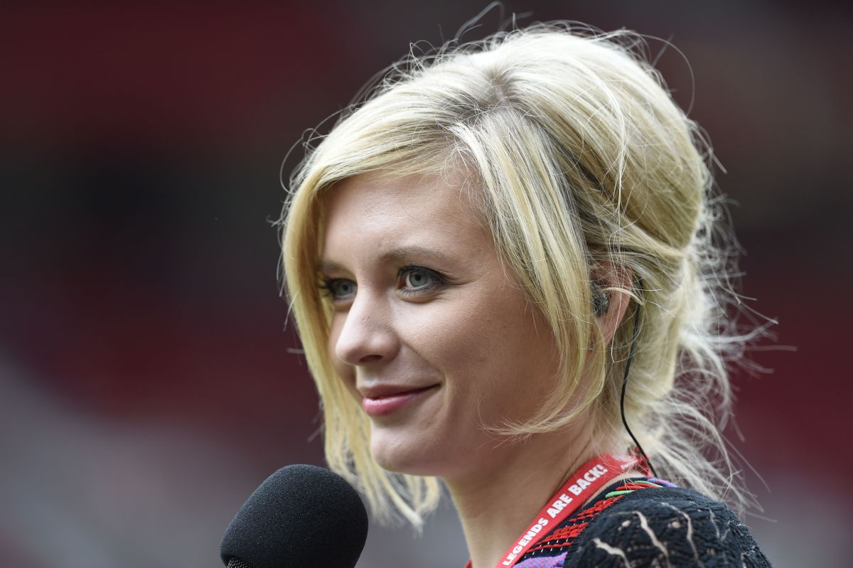 Rachel Riley At Manchester United Legends Charity Match At Old