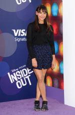 RASHIDA JONES at Inside Out Premiere in Hollwood