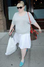 REBEL WILSON Leaves Her Hotel in New York 06/10/2015