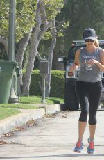 REESE WITHERSPOON and Jim Toth Out Jogging in Los Angeles 06/21/2015
