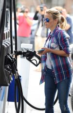 REESE WITHERSPOON at a Gas Station in Brentwood 06/13/2015