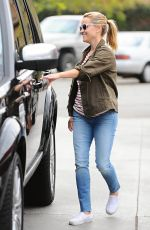 REESE WITHERSPOON at a Gas Station in Brentwood 06/27/2015