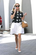 REESE WITHERSPOON in White Dress Out in Los Angeles 06/26/2015
