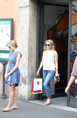 REESE WITHERSPOON Out Shopping in Rome 06/18/2015
