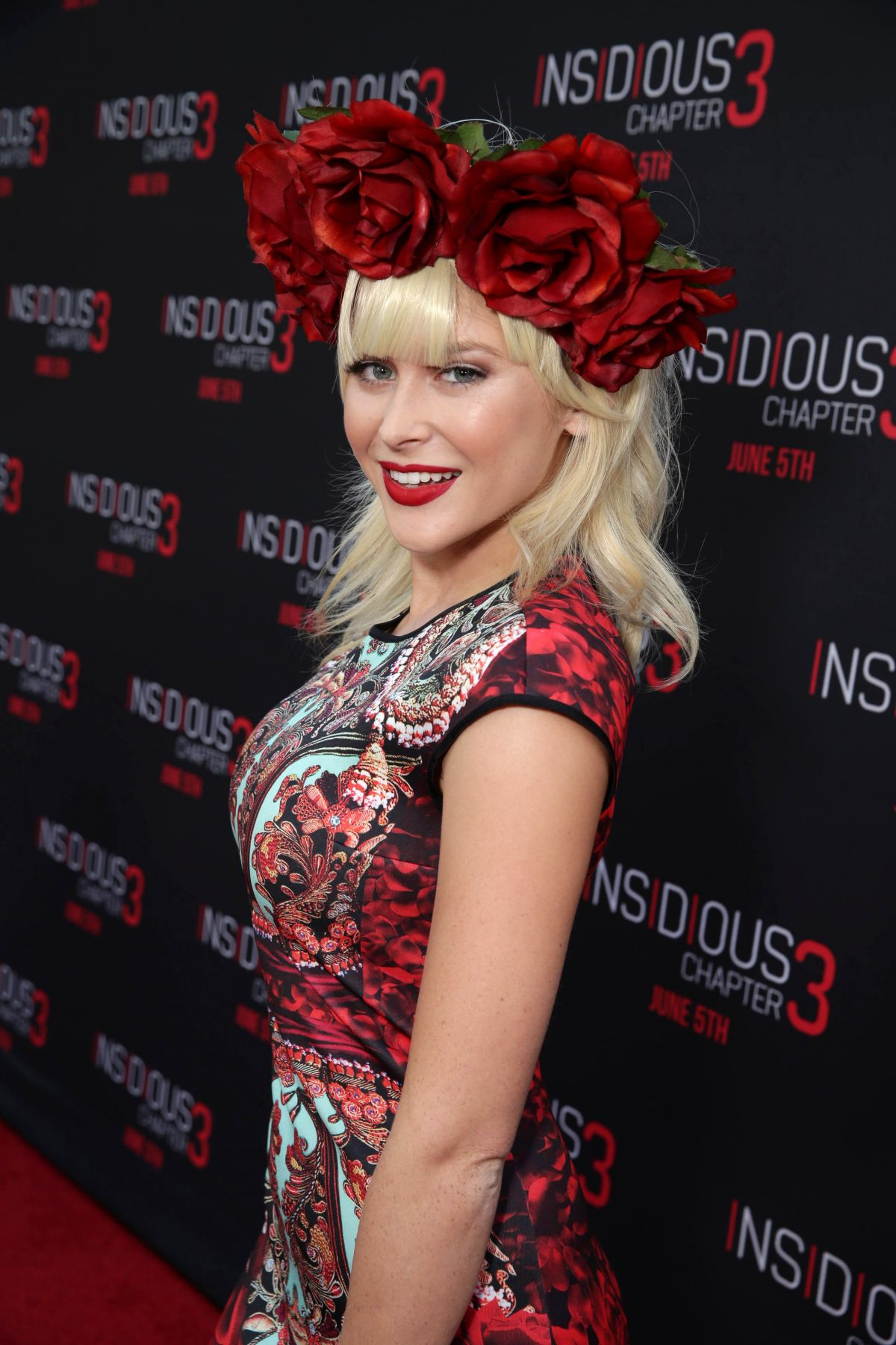 RENEE OLSTEAD at Insidious Chapter 3 Premiere in Hollywood