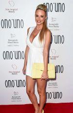 RHIAN SUGDEN at Ono Uno' Collection Launch in Marbella