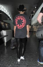 RITA ORA Arrives at Heathrow Airport in London 06/02/2015