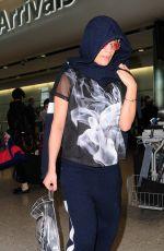 RITA ORA Arrives at Heathrow Airport in London 06/06/2015