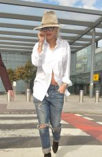 RITA ORA Arrives at Heathrow Airport in London 06/24/2015