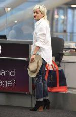 RITA ORA at JFK Airport in New York 06/23/2015