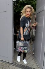 RITA ORA Out and About in London 06/02/2015