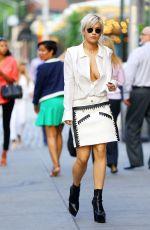 RITA ORA Out in New York 06/22/2015