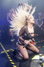 RITA ORA Performs at G-A-Y Nightclub in London 06/27/2015