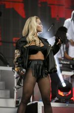 RITA ORA Performs at New Look Wireless Birthday Party in Finsbury Park in London