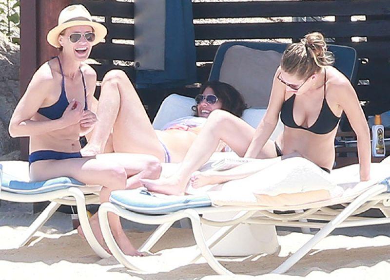Dylan Penn In a bikini at a beach in Malibu - Celebzz