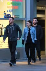 ROONEY MARA and Charlie Mcdowell Out in Hollywood