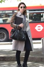 ROONEY MARA Out and About in London 06/10/2015