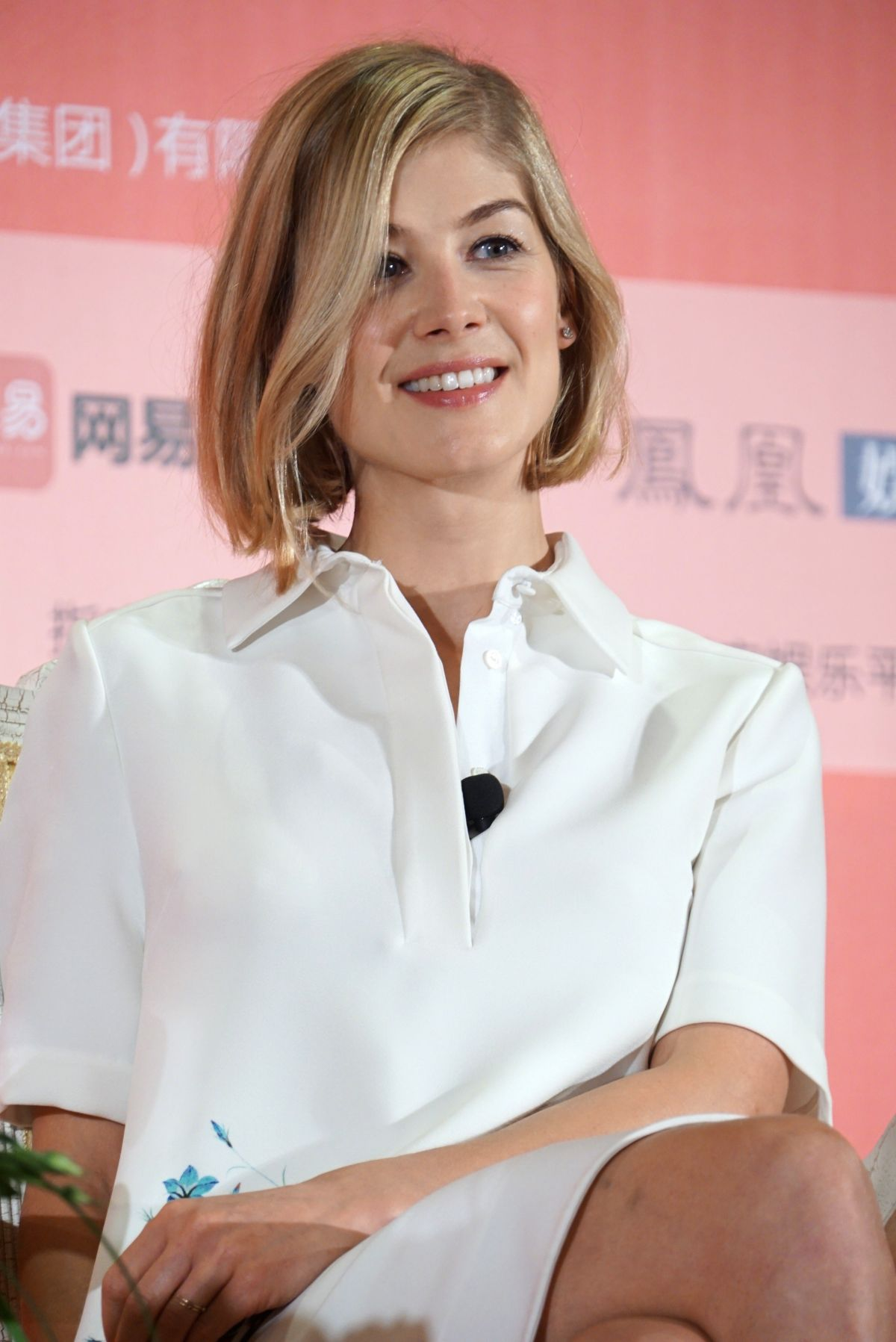 ROSAMUND PIKE at Gone Girl Press Conference in Shanghai ...