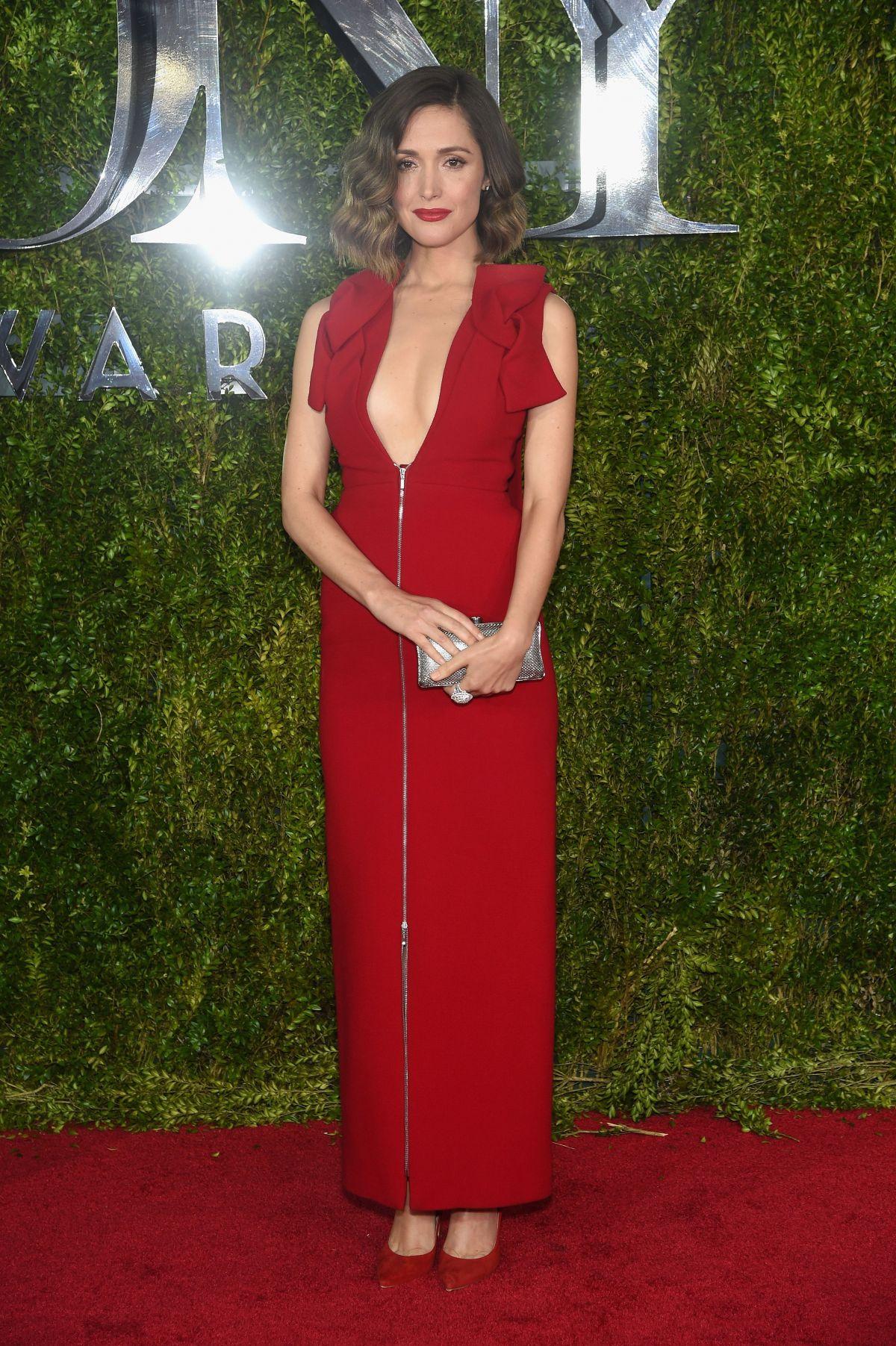 ROSE BYRNE at 2015 Tony Awards in New York