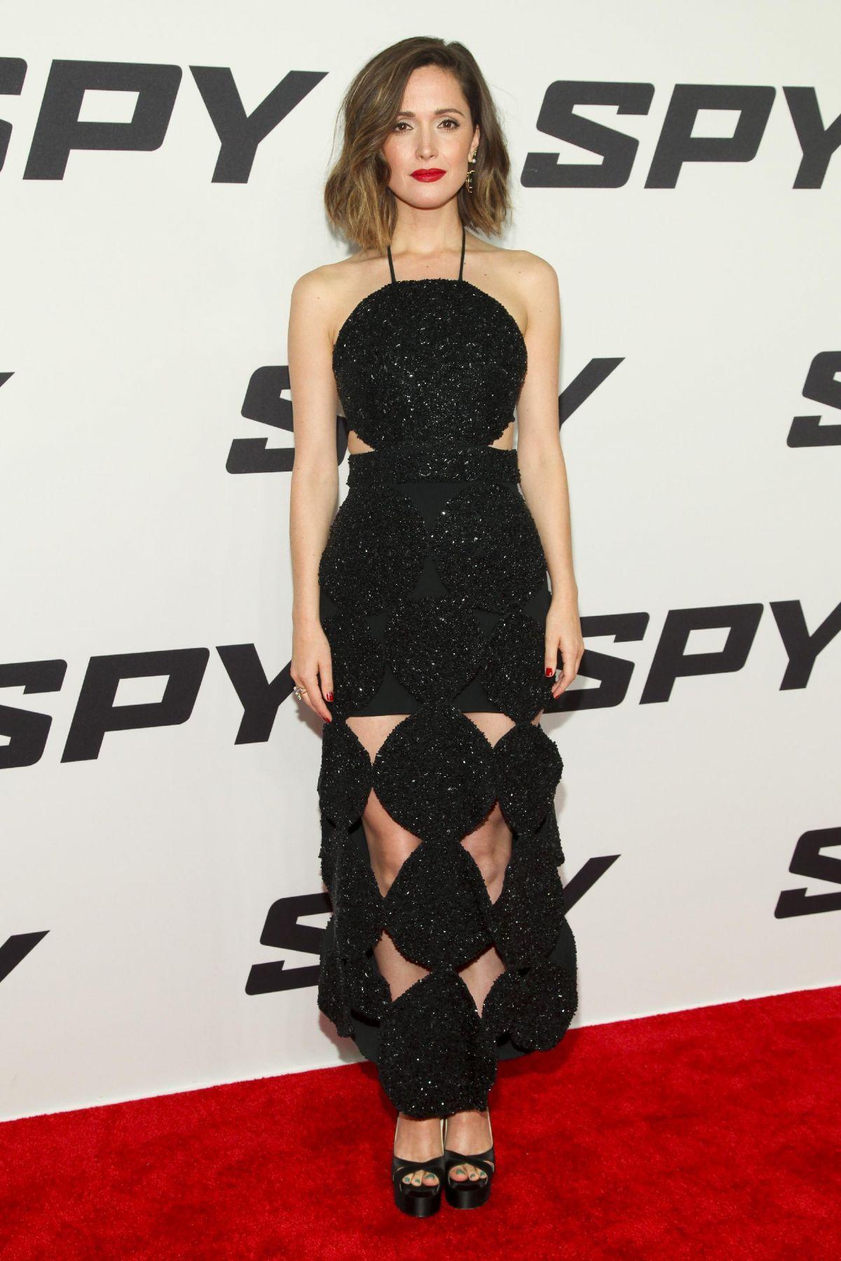 ROSE BYRNE at Spy Premiere in New York