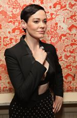 ROSE MCGOWAN at Casa Reale Fine Jewelry Launch in New York