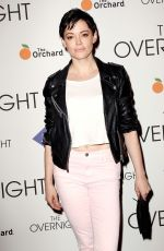 ROSE MCGOWAN at The Overnight Premiere in New York