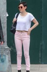 ROSE MCGOWAN Out and About in New York 06/18/2015