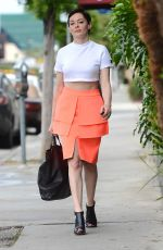 ROSE MCGOWAN Out and About in West Hollywood 06/09/2015