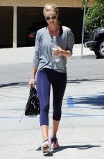 ROSIE HUNTINGTON-WHITELEY Leaves a Gym in Los Angeles 06/19/2015