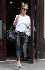 ROSIE HUNTINGTON-WHITELEY Leaves Her Hotel in New York 06/10/2015