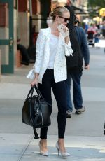 ROSIE HUNTINGTON-WHITELEY Out and About in New York 06/10/2015