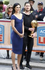 RUMER WILLIS at Access Hollywood Live in New York 06/03/2015