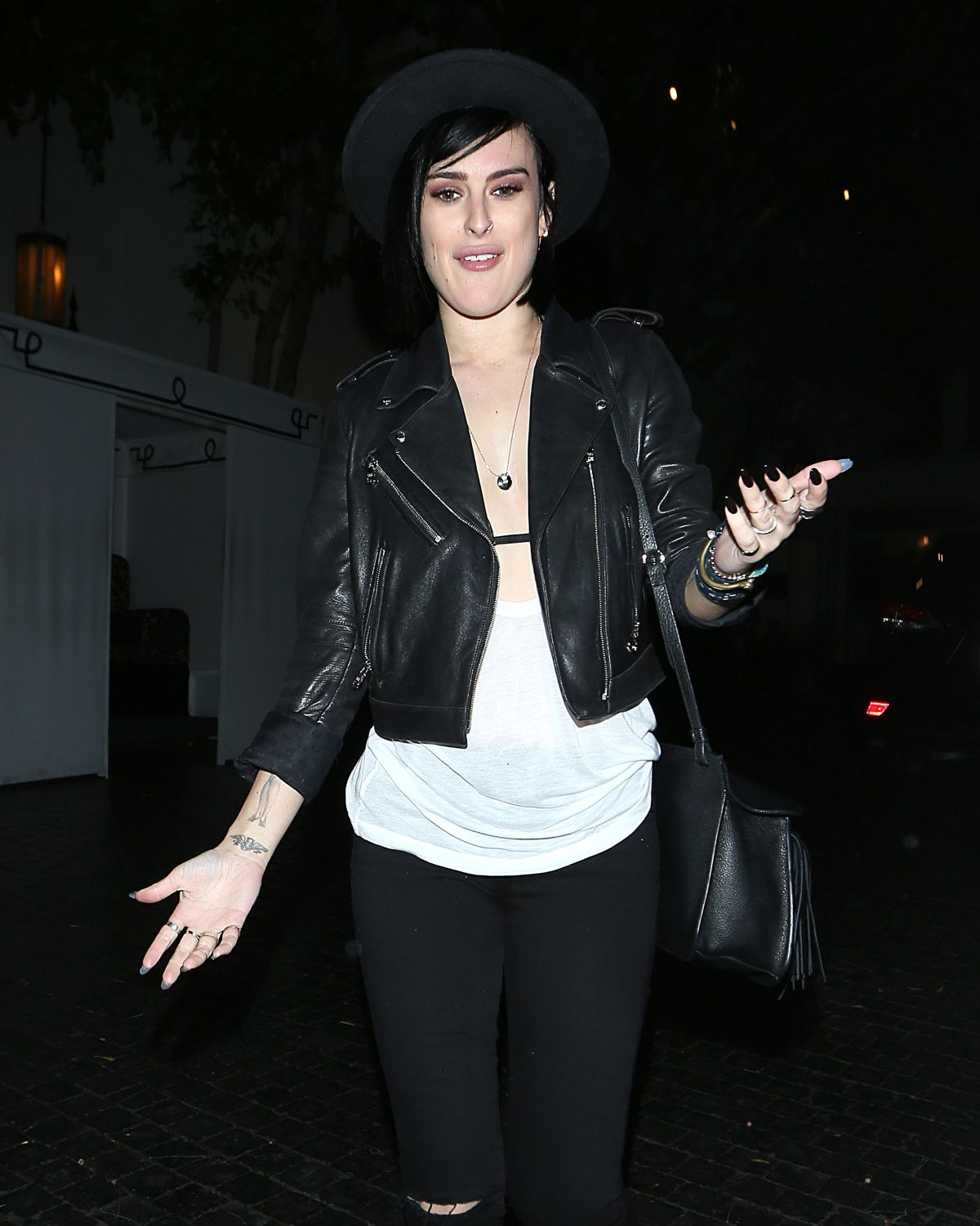 RUMER WILLIS Leaves Chateau Marmont in West Hollywood 06/26/2015