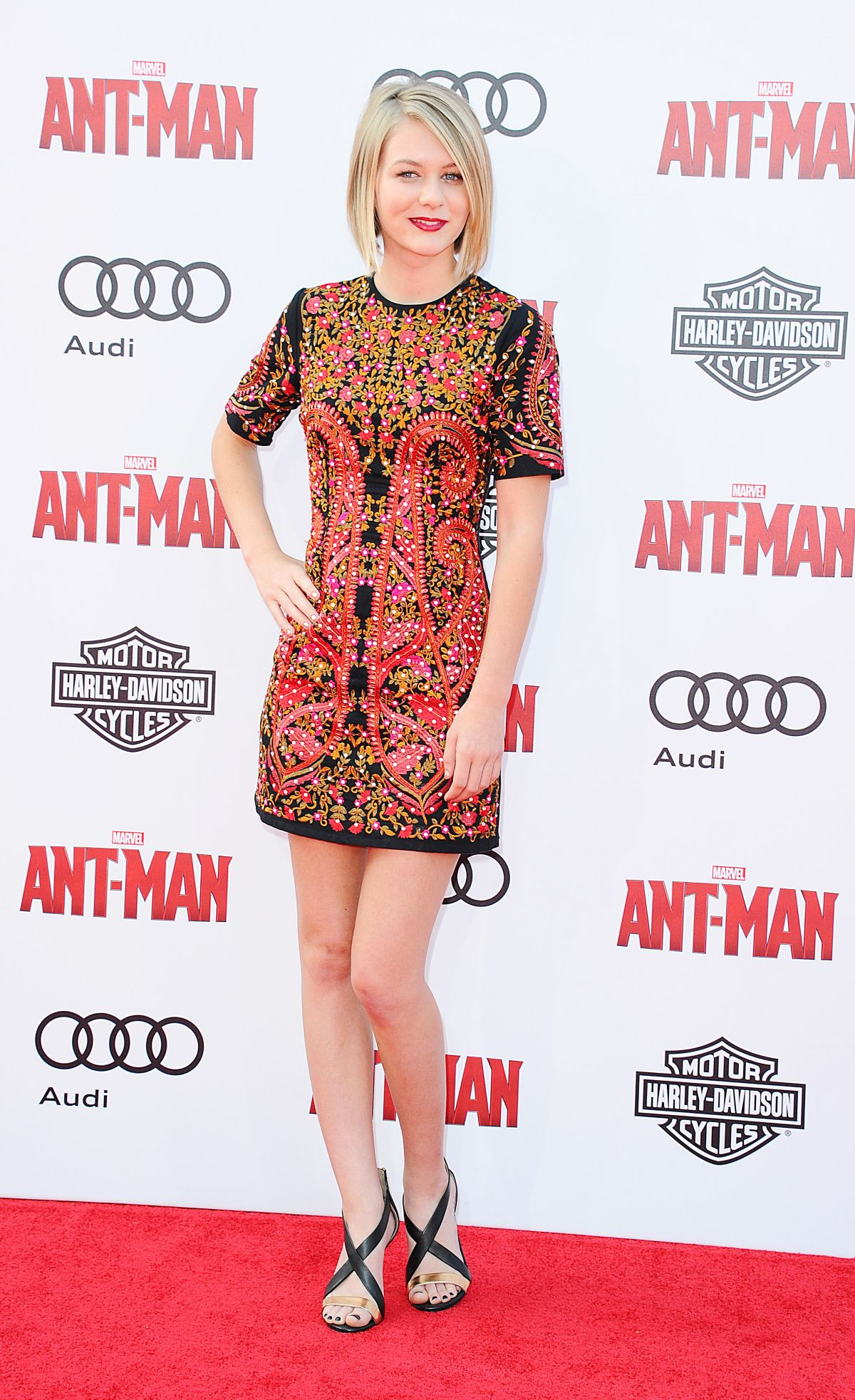 RYAN SIMPKINS at Ant-man Premiere in Hollywood – HawtCelebs