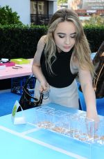 SABRINA CARPENTER at Call it Spring Turf and Surf Summer Campaign Launch Party in Los Angeles