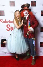 SABRINA CARPENTER at Her 16th Birthday Party in Los Angeles