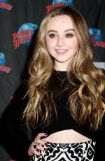 SABRINA CARPENTER at Planet Hollywood Times Square in New York 06/07/2015