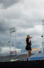 SABRINA CARPENTER Performs at Show of the Summer in Hershey
