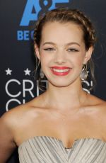 SADIE CALVANO at 5th Annual Critics Choice Television Awards in Beverly Hills