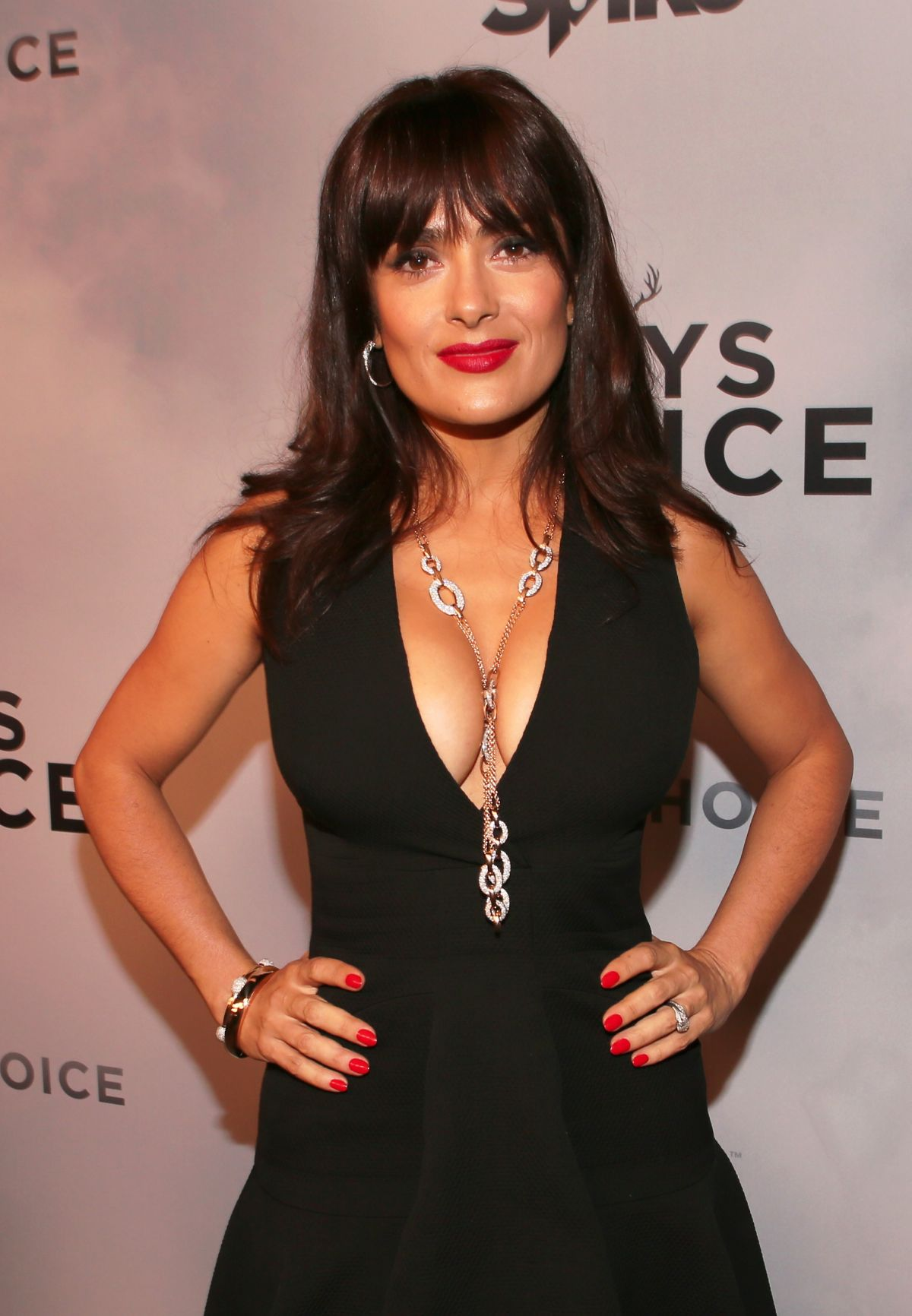SALMA HAYEK at Spike TV's Guys Choice Awards in Culver City ...