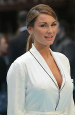 SAM FAIERS at Entourage Premiere in London