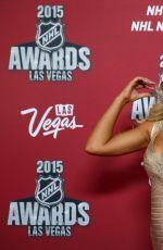SAMANTHA HOOPES at 2015 NHL Awards in Las Vegas