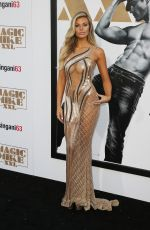 SAMANTHA HOOPES at Magic Mike XXL Premiere in Hollywood