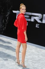 SARAH DUMONT at Terminator: Genisys Premiere in Hollywood