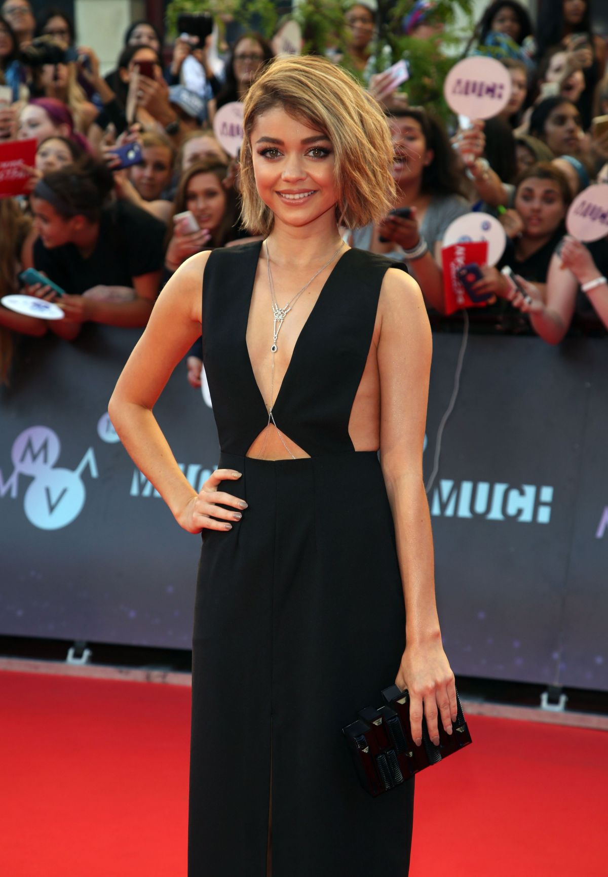 SARAH HYLAND at 2015 MuchMusic Video Awards in Toronto
